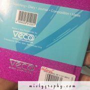 Veco Unlined Notebook Cream Paper Sketch Pad