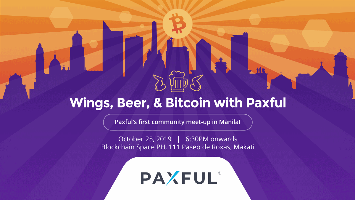 EVENT: Wings, Beer, & Bitcoin with Paxful
