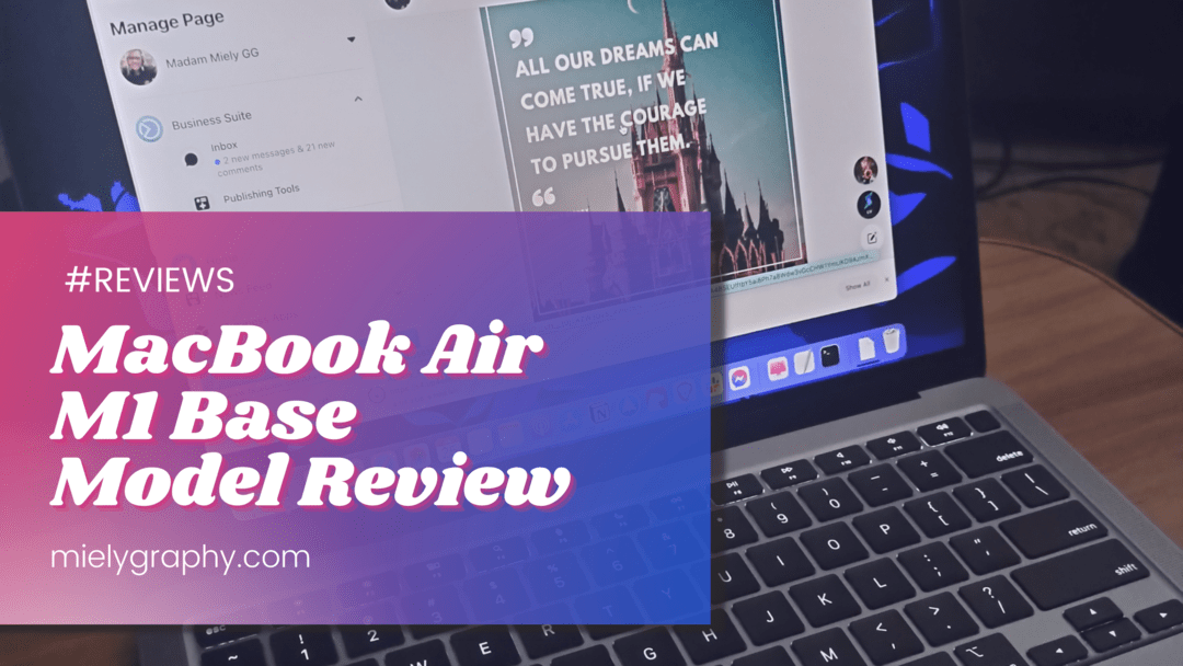 MacBook Air M1 Base Model Experience(Review)